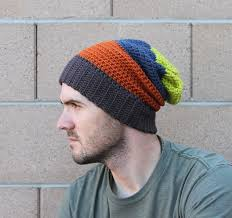Hipster Beanie Crochet Pattern Adorable Ravelry Mens Slouchy Beanie Pattern By Beth Kelly