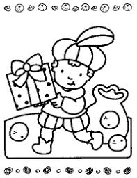 Kleurplaten Sinterklaas Voor Peuters