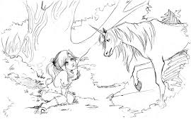 unicorn coloring pages for s