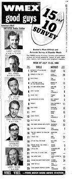 Wmex Boston Ma 1966 07 17 In 2019 Music Charts Music