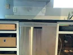 installing dishwasher under granite countertop attaching dishwasher to granite can you attach mounting installing under