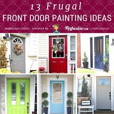 Front Door Painting Ideas