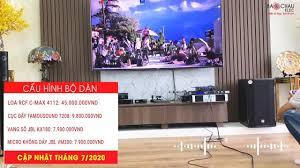 Bảo Châu Elec Bắc Ninh - Lắp đặt dàn karaoke Cao Cấp Loa RCF sản xuất ITALY  cho Chú Dũng ở Vinhome Hàm Nghi