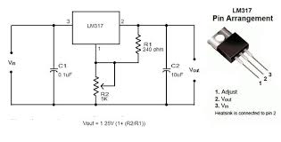 convert battery powered electronics to run on ac 4 steps lm317 typical adjustable regulator ckt png