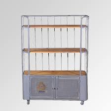 allure furniture. Iron U0026 Wooden 3 Tier Bookshelf With 2 Drawers97X41X131 Allure Furniture