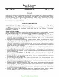 Resume Example Commercial Property Manager Cover Letter Resume