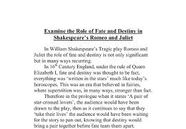 romeo and juliet fate and destiny essay write an essay college  realization for <em>romeo< em> <em><em>