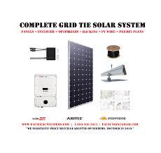 10kw grid tie solar kit