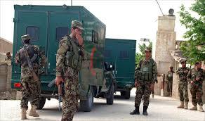 أفغانستان - هجوم طالباني على قاعدة عسكرية