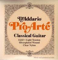 Daddario Proarte Series Classical Guitar Strings