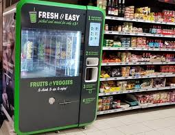 Another Name For Vending Machine Inspiration Personalised Smoothies From Vending Machines