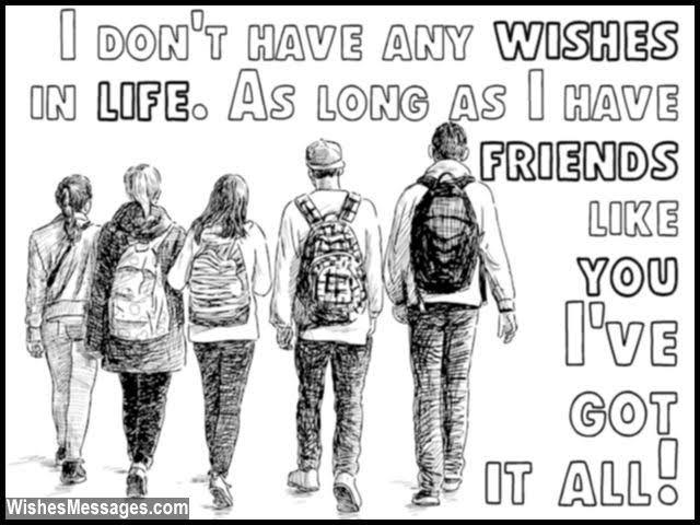 best friends messages