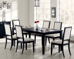 amazon dining room tables. coaster lexton 7 piece rectangular dining set, black amazon room tables l