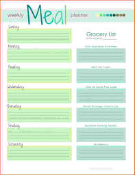 Plan Template Calm Meal April Nourishing Home To Smartly Weekly ...