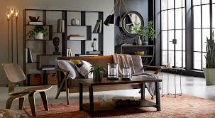 living room the destination for relaxation fun understated cool industrial design has enduring appeal because it s easy to mix match