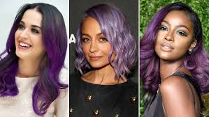 Purple Hair Style the 11 best purplehaired celebrities allure 1071 by wearticles.com