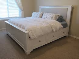 ... Platform Bed With Drawers Plans. Image Of Twin Platform Bed With With  Regard To How ...