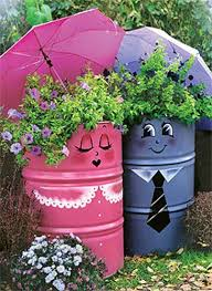 garden decoration. Creative Handmade Garden Decorations, 20 Recycling Ideas For Backyard Decorating Decoration
