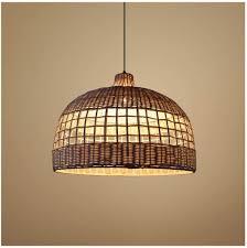 Restaurant Ceiling Lights Restaurant Pendant Light Modern Rattan Chandelier Creative