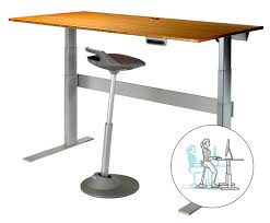 tall office chairs for standing desks to give you some inspiration on choosing correct desk design