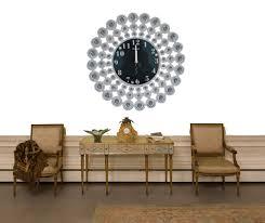 living room wall clocks. White Crystal Decorative Wall Clock The Living Room Bedroom Clock, Clocks R