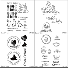<b>ZhuoAng</b> Happy <b>Easter</b> egg/rabbit/hick German Clear Stamps For ...