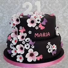 96 21st Birthday Cake For Female 21st Birthday Cakes Inspired By
