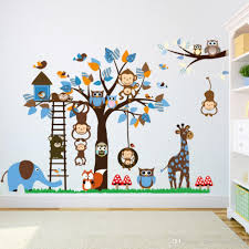 Monkey Bedroom Decorations Baby Nursery Decor Cute Wall Decals Monkey Baby Nursery Vinyl