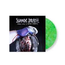 <b>napalm death</b> '<b>throes</b> of joy in the jaws of defeatism' limited-edition