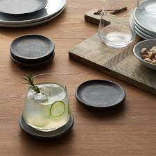 <b>Set of 4</b> Cole Coasters + Reviews | Crate and Barrel