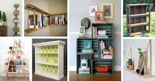 26 trendy diy bookshelf ideas that make the most of your home s space