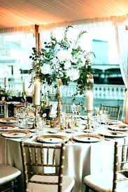 round table centerpieces round table centerpiece decor tall centerpieces for the tables at this tented water fall rustic wedding centerpieces for round