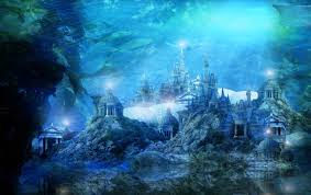 poseidon underwater hotel. Temple Of Poseidon In Atlantis Underwater Hotel A