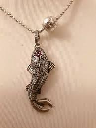thomas sabo koi necklace