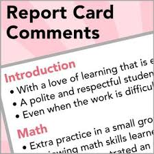 tablethuxx   report card comments assessing elementary student     Pinterest http   www rayslearning com report htm article about Teacher     s