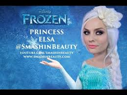 disney frozen 2017 princess elsa makeup tutorial ice queen makeup smashinbeauty