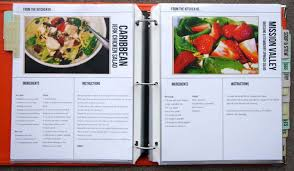homemade recipe book using doent life work recipe template set by megan anderson