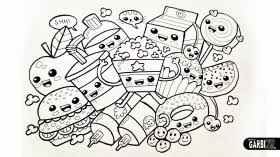Small Picture Kawaii Coloring Pages Coloring Home