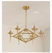 glass ball led pendant lights modern chandelier lighting