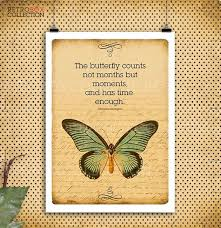 Butterfly Quotes Extraordinary Butterfly Quotes Print Vintage Letter Paper A48 48dpi Etsy