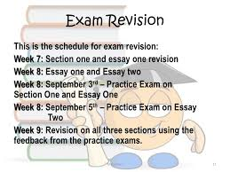 end of term exam today s objectives are to outline the exam  11 exam