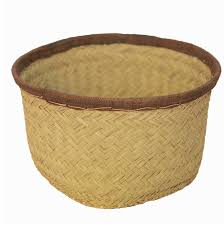 woven basket with lid. Woven BASKET MADAGASCAR Basket With Lid