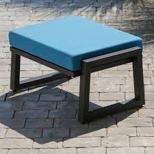 elan furniture voblxa vero outdoor lounge ottoman  the mine
