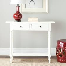 cream console table. Safavieh Rosemary Distressed Cream Storage Console Table H