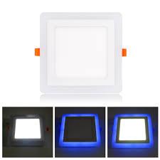 RGB <b>Led</b> Panel Light 6w/9w/16w/24W <b>Ultra Thin</b> Recessed <b>LED</b> ...