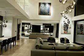 ... Open plan living room design and interior decorating ideas for small  apartments and homes