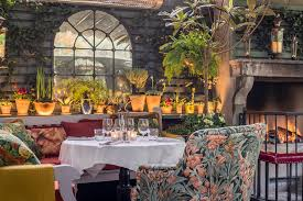 the winter terrace at the ivy chelsea the ivy chelsea garden