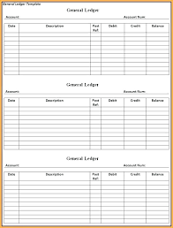 bookkeeping ledger template free ledger template business download general rental forms
