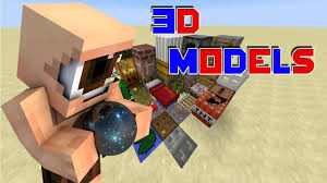 3d texture packs 3d models minecraft resource pack review 1 8 hd youtube