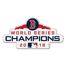 Red Series Sox World 2018 Boston Magnet Champions
